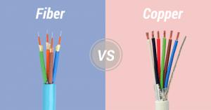 Quelle sont les différences entre les câbles fibre optique et les câbles cuivre ?
